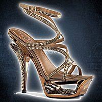 Pleaser Deluxe-620RS Bronze