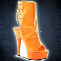 Pleaser DELIGHT-1018UV Neon Orange Lack
