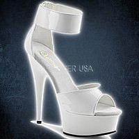 Pleaser DELIGHT-670-3 Weiss
