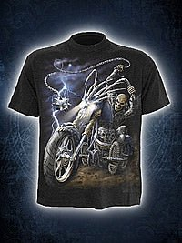 Ride to Hell T-Shirt SPIRAL