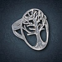 Ring Tree Silber