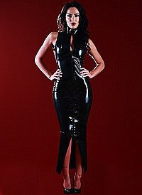 Rubber Cosmopolitan Dress Latex Kleid