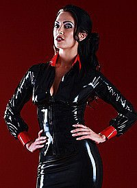 Rubber Disciplinarian Shirt Latex