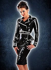 Rubber Jubilee Jacket Dress Latex Kleid