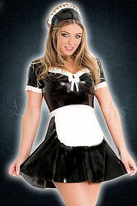 Rubber Maid Dress Kleid, Latex