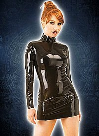 Rubber Midnight Dress Latex Kleid