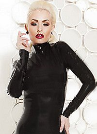 Rubber Noir Blouse Latex