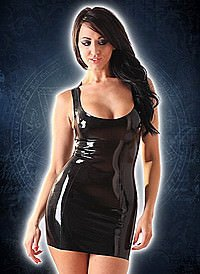 Rubber Venus Vest Dress Latex Kleid