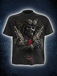 Steam Punk Bandit T-Shirt SPIRAL