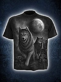 Wolf Pack Wrap T-Shirt SPIRAL